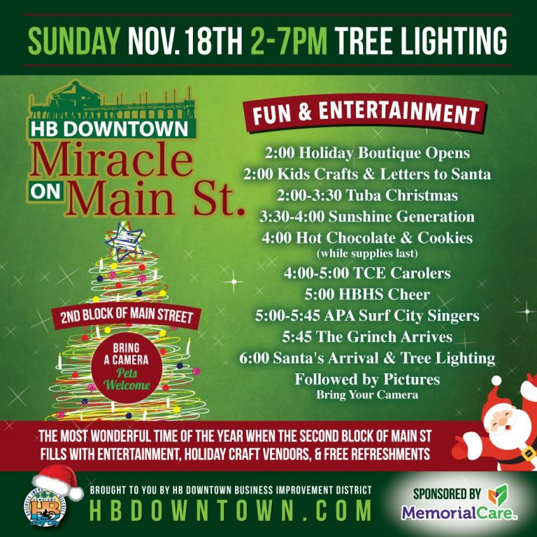 HB Downtown: Miracle on Main St.