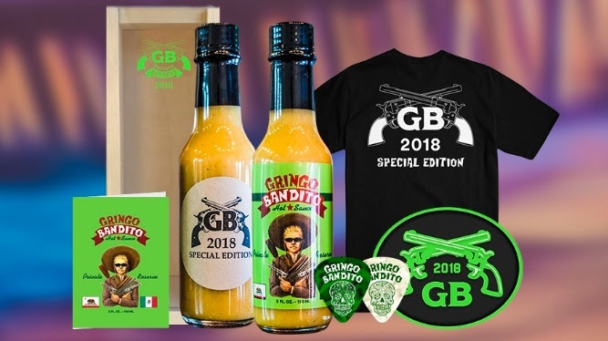 Gringo Bandito Unveils 2018 Private Reserve Hot Sauce