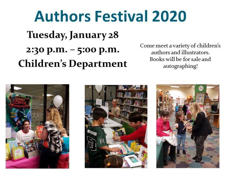 Annual Authors Festival at Huntington Beach Children's Library
