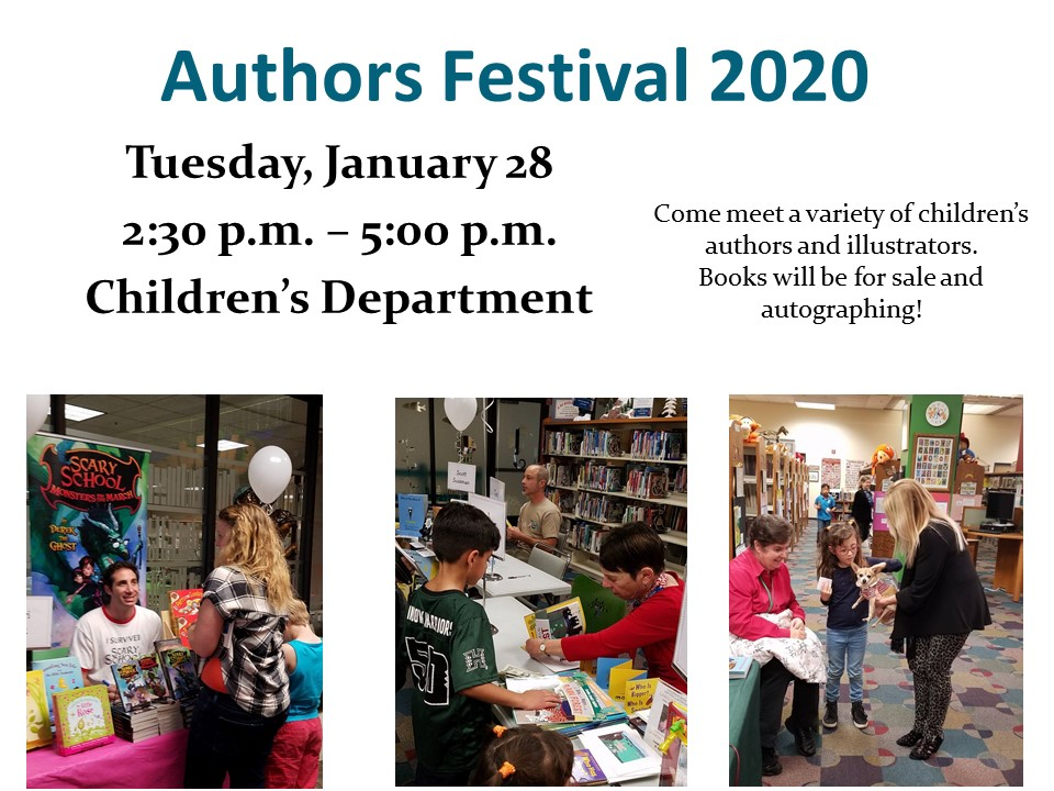 Huntington Beach Children's Library Authors Festival