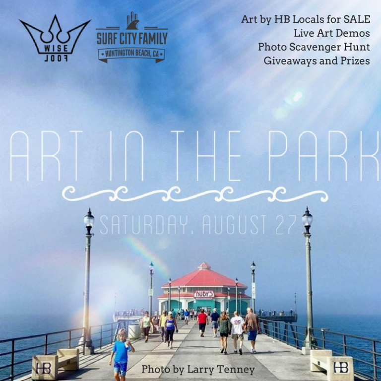 Join Surf City Family and Wise Fool at Art in the Park, Huntington Beach