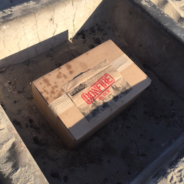 Earthlog's Bonfire in a Box