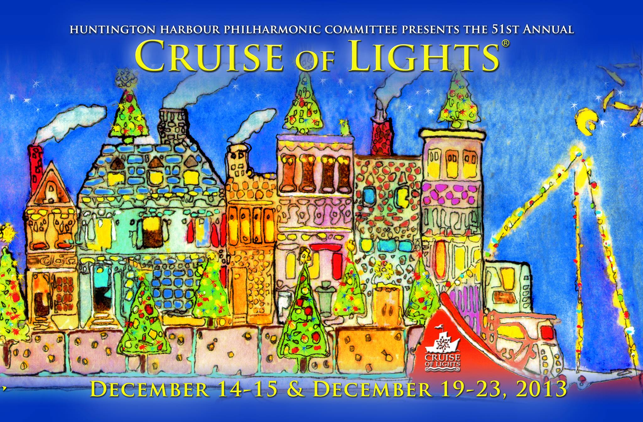 Huntington Harbour Cruise of Lights to Benefit Youth Music Programs