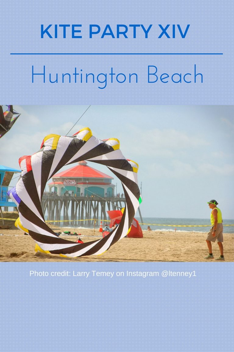 Kite Party XIV Brings Amazing Kite Flying to Huntington Beach