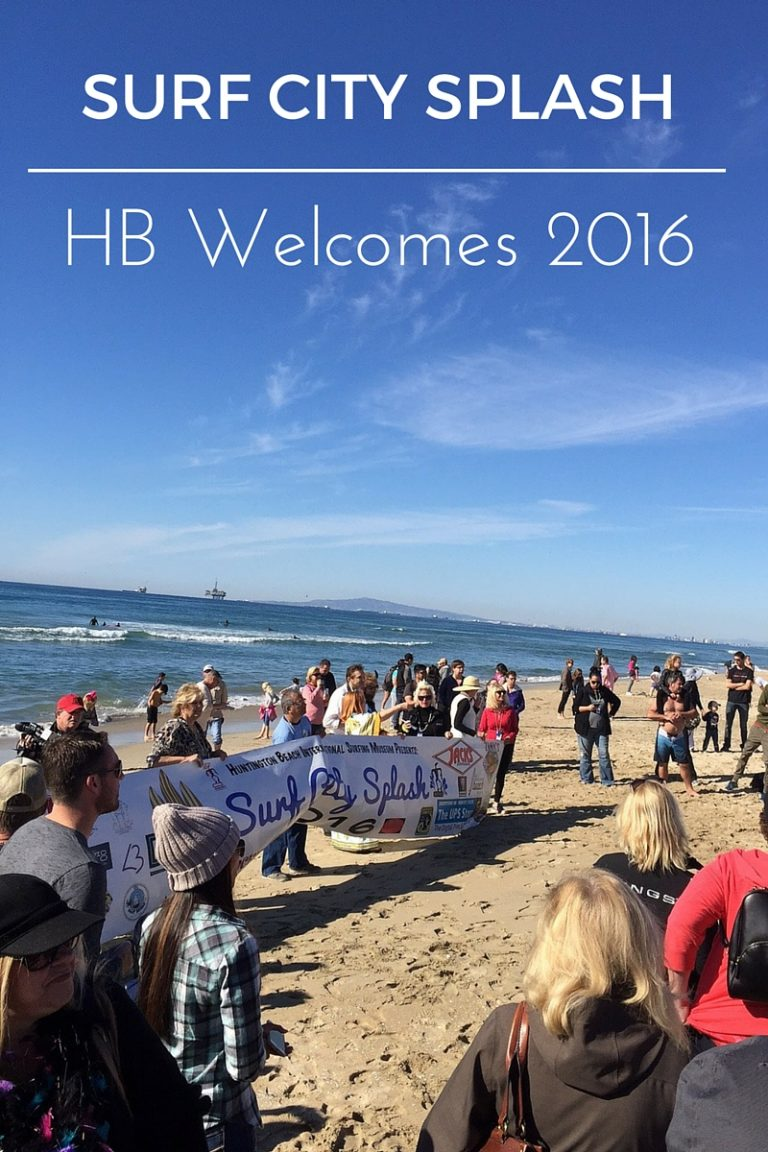 Huntington Beach Welcomed 2016 with a Splash!