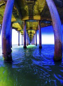 Under the HB Pier, FotoMerlin