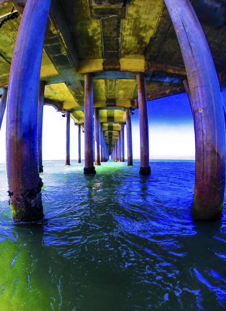 Under the HB Pier, FotoMerlin