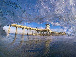 Huntington Beach Pier   FotoMerlin