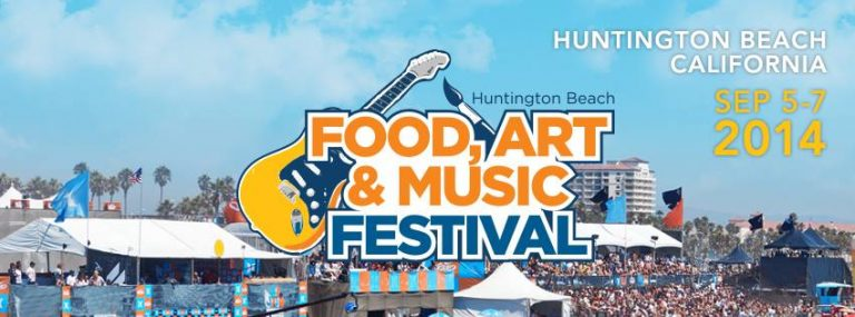 Mark McGrath of Sugar Ray and More at Huntington Beach Food, Art and Music Festival
