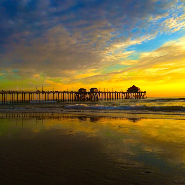 Explore Huntington Beach Pier with iPhoneographer Larry Tenney