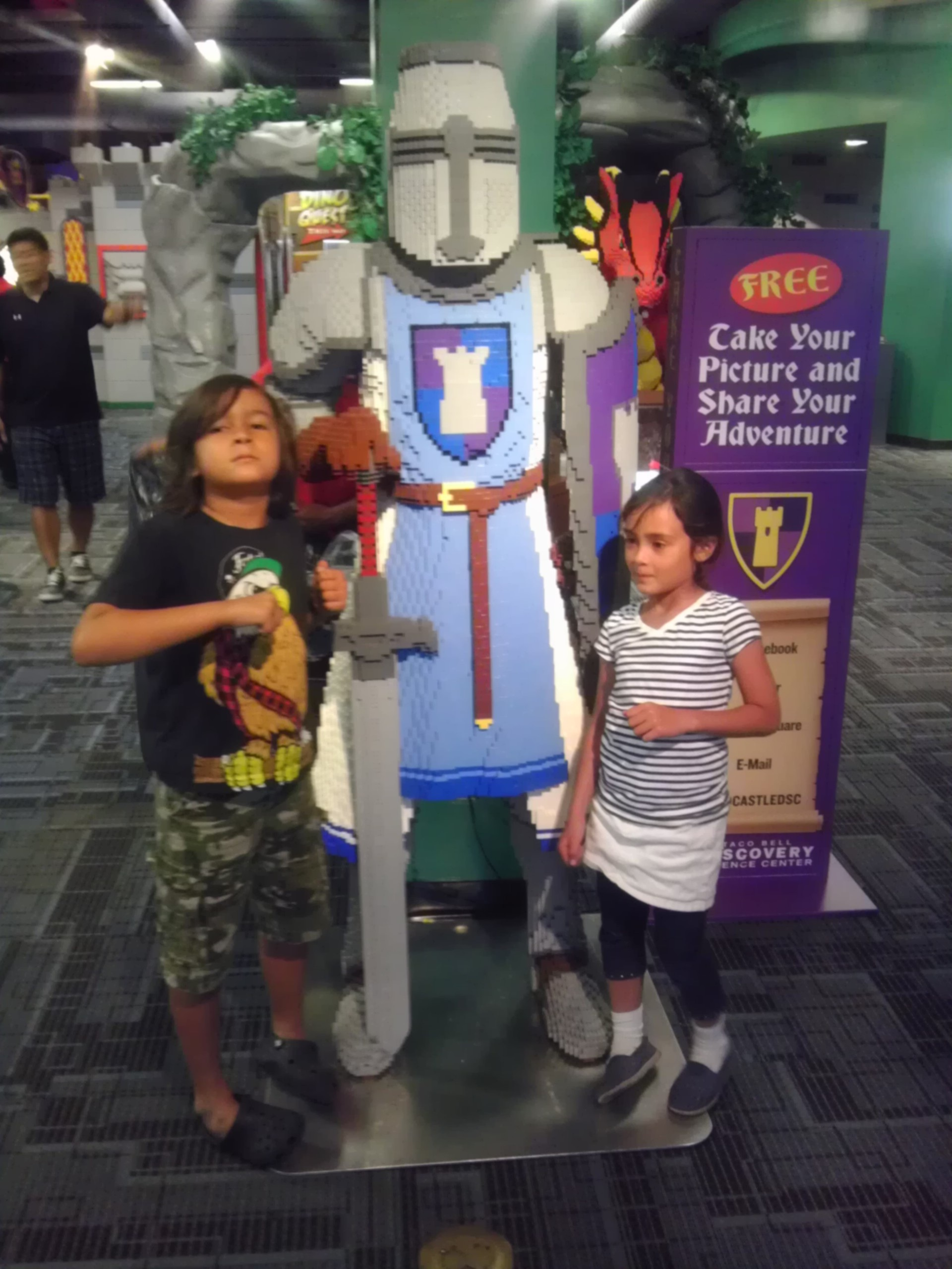 Summer Fun With LEGO and DaVinci at Discovery Science Center