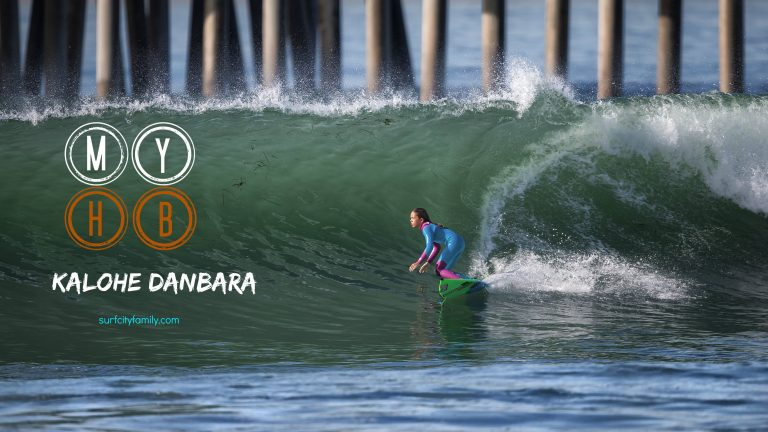 Surfer Girl Kalohe Danbara: My Huntington Beach