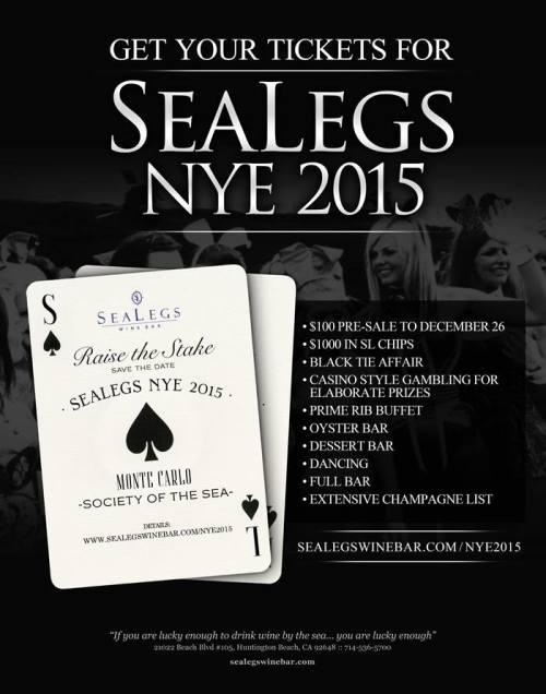 Holiday Happenings at SeaLegs Wine Bar