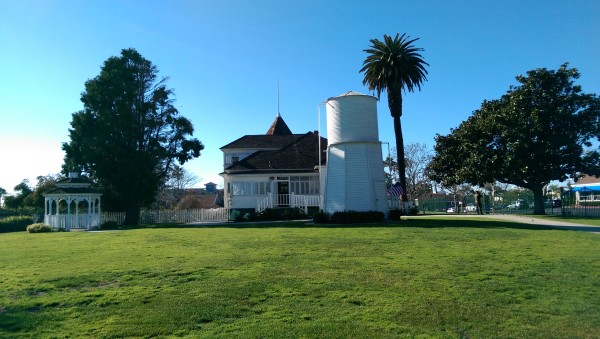 Back of the Newland House   Huntington Beach   museum