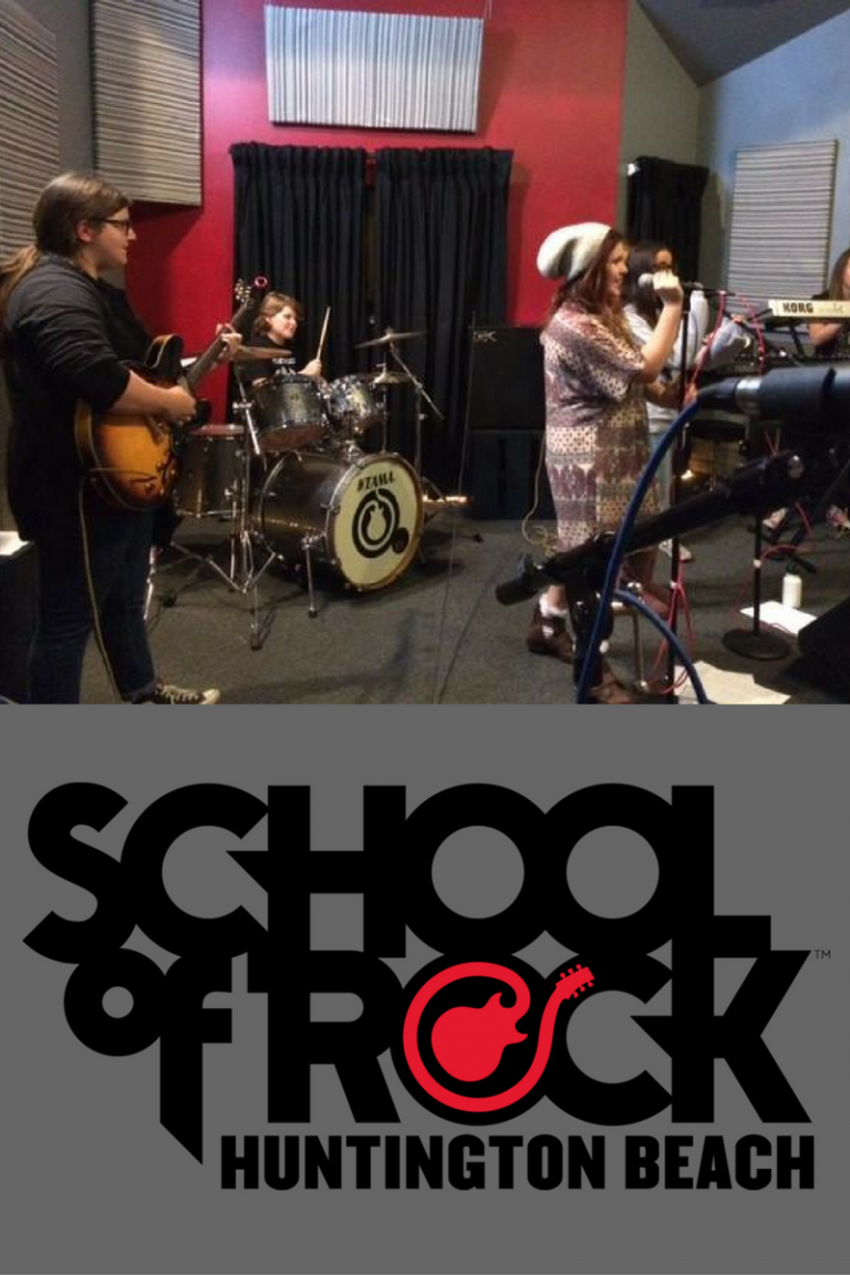 Prepared to be blown away at the School of Rock Huntington Beach
