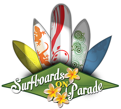 Find the Surfboards on Parade