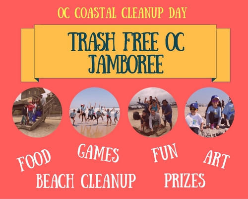 Register for Orange County Coastal Cleanup Day on September 17