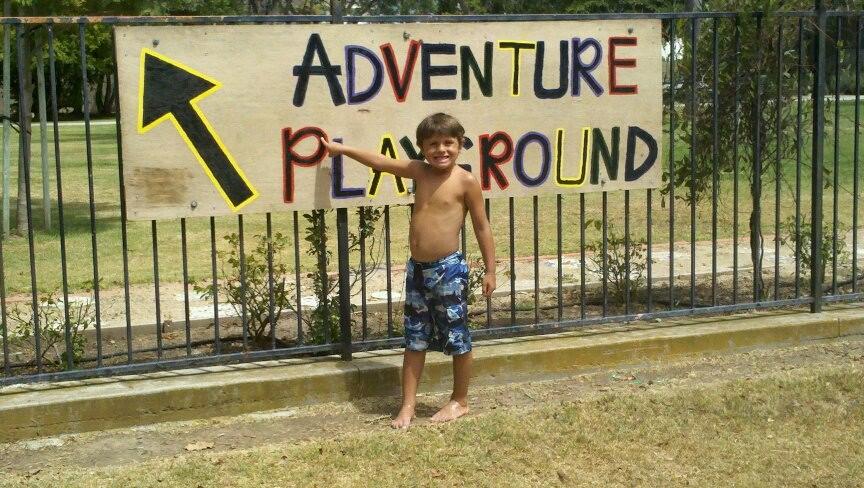 Adventure Playground Sign
