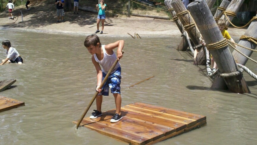 Rafting at Adventure Playground