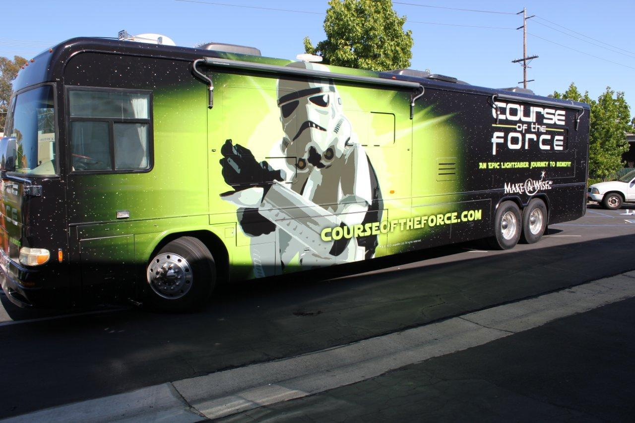 Star Wars Themed Charity Relay Stops in Huntington Beach on 7/13