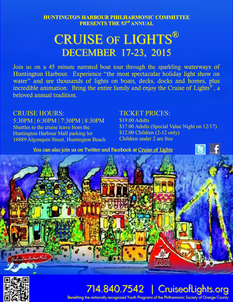 Huntington Harbour Cruise of Lights – A Christmas Tradition