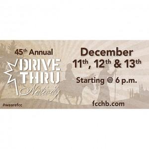 Drive Thru Nativity   First Christian Church   Huntington Beach