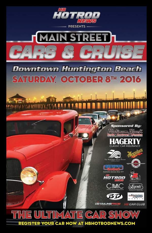 Huntington Beach Hot Rod Car Show Surf City Family - Car show huntington beach