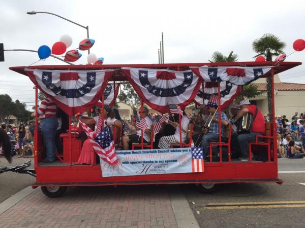 Huntington Beach Interfaith Council at the 4th of July Parade.