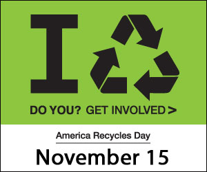 SHRED Event at Rainbow Environmental for America Recycles Day