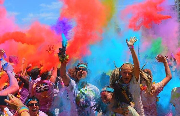 The Color Run Tropicolor™ World Tour Makes a Splash in Huntington Beach, Saturday, Nov. 19