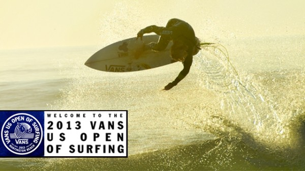 2013 Vans US Open of Surfing Hits Huntington Beach this Weekend