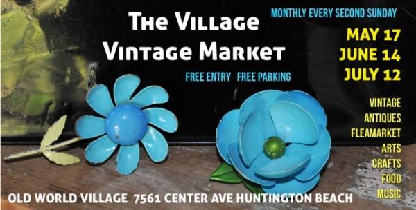 Vintage Market | Huntington Beach | Surf City Family